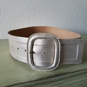 Michael Kors Metallic Belt